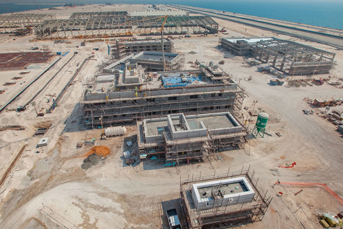 Dredging contract for USD 1.5 Billion to develop Khalifa Port awarded to Archirodon, Boskalis, and Hyundai Consortium
