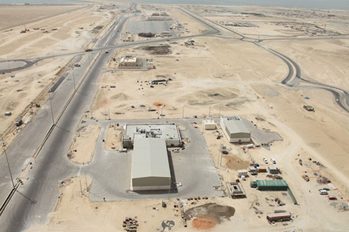 Construction of on-shore port facilities at Khalifa Port and Industrial Zone awarded to Al Habtoor Leighton Group