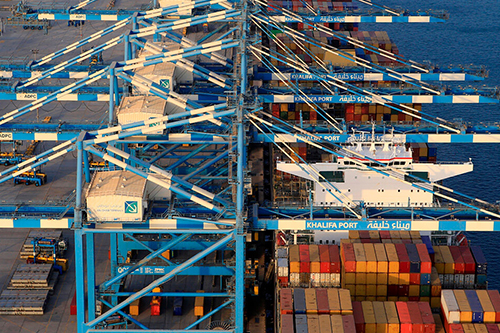 Khalifa Port ranked 5th in EMEA region for port productivity