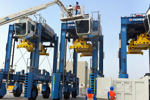 Region's quickest truck turnaround (12 min) reached at Khalifa Port Container Terminal