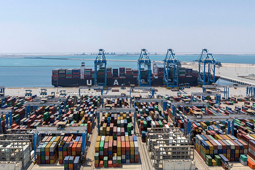 1,504,000 TEUs throughput reached at Khalifa Port Container Terminal (32% YoY growth)