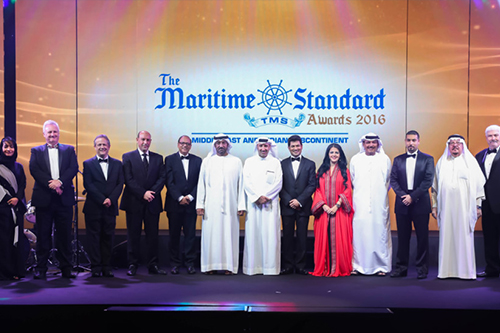 Abu Dhabi Ports wins three Awards at the 2016 Maritime Standard Awards