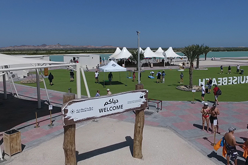 Sir Bani Yas Cruise Beach launched
