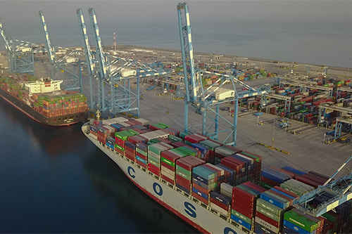 COSCO Shipping breaks ground at Khalifa Port