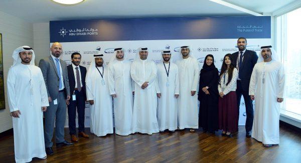 Captain-Mohamed-Juma-Al-Shamisi-CEO-of-Abu-Dhabi-Ports-and-Mr.-Abdul-Majeed-Al-Khoori-Acting-CEO-at-Abu-Dhabi-Airports-sign-MoU-1