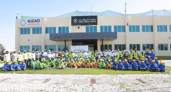 Abu-Dhabi-Ports-and-Tadweer-organise-clean-up-campaign-at-KIZAD-2