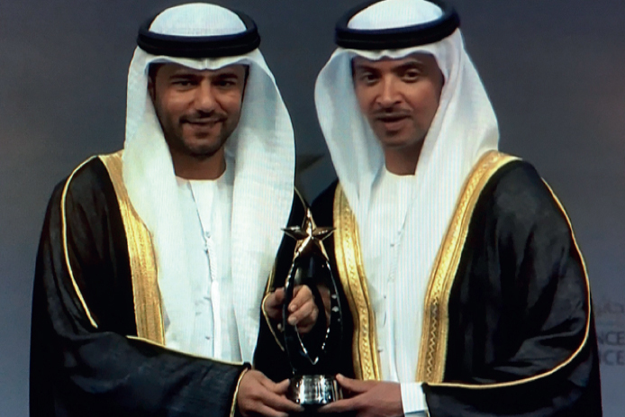 "Winner of Abu Dhabi Government Excellence Awards for ""Financially Distinguished Entity"" and ""Distinguished Entity in Performance Improvement"""
