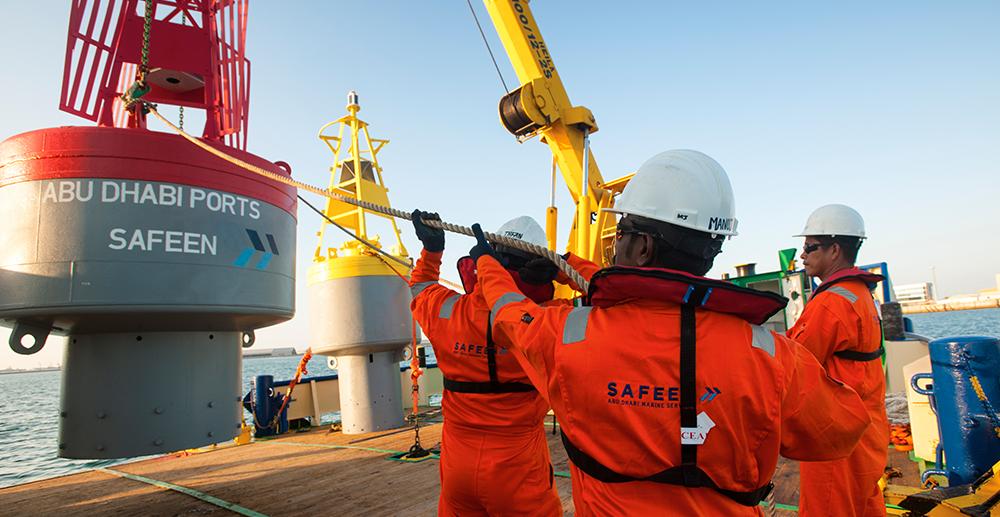 SAFEEN - Abu Dhabi Marine Services | Abu Dhabi Ports