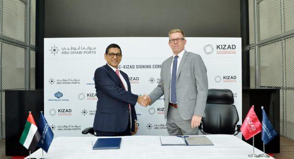 (L-R) Samir Chaturvedi, KIZAD CEO, and Göran Eriksson, GAC Abu Dhabi's Managing Director (1)
