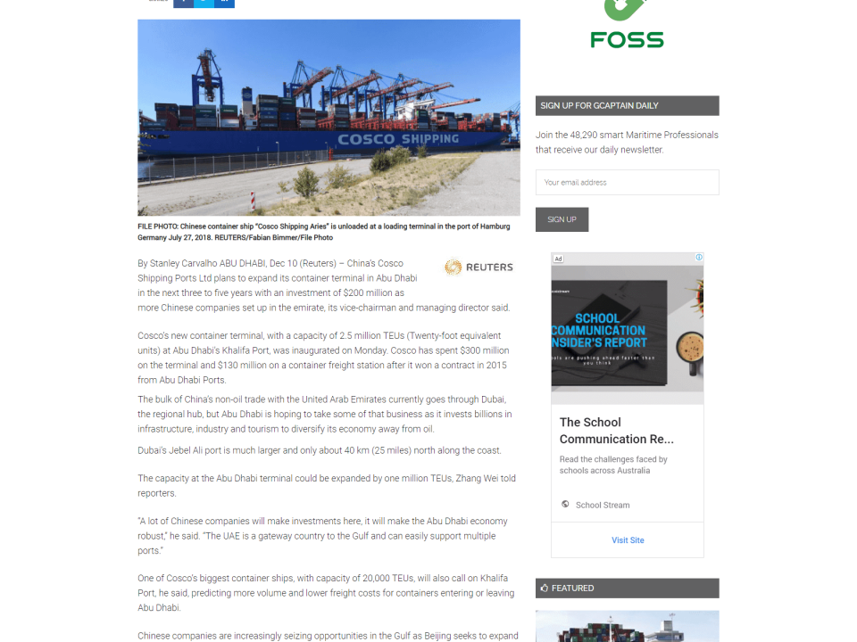 Top Highlights Archives | Page 2 of 3 | Abu Dhabi Ports