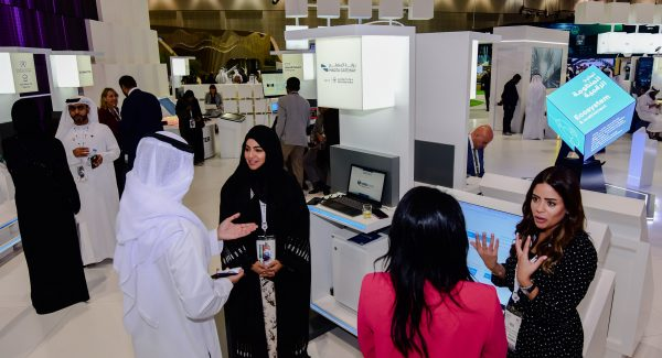 Abu Dhabi Ports' Maqta Gateway showcased its new Marsa solution for interested GITEX attendees