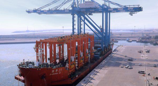 Fujairah Terminals' State-of-the-Art Cranes
